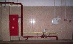 Окраска пожарного водопровода по СНИП