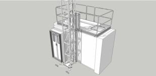 Лифт для пожарных подразделений размеры