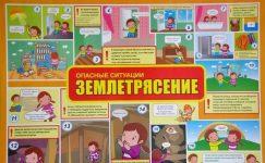 Правила поведения при землетрясении для детей