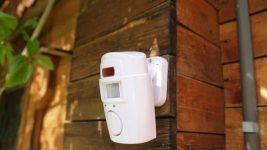 Установка охранной сигнализации на даче