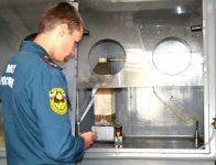 Проверка качества огнезащитной обработки металлических конструкций