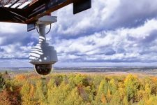Мониторинг лесных пожаров камеры
