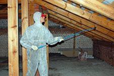 Огнезащитная обработка деревянных конструкций чердачных помещений
