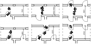 Ширина коридора в гостинице нормы